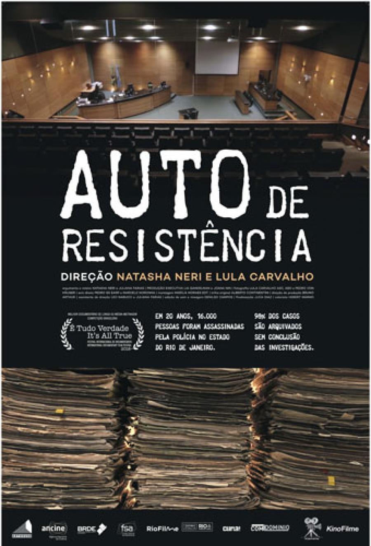 Resultado de imagem para auto de resistência filme poster